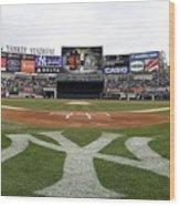 Chicago Cubs V New York Yankees Wood Print