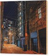 Chicago Nights Wood Print