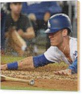 Chicago White Sox V Los Angeles Dodgers 1 Wood Print