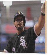 Chicago White Sox V Tampa Bay Rays Wood Print