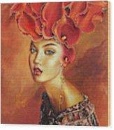 Chiquitita Wood Print