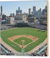 Cleveland Indians V Detroit Tigers Wood Print