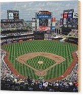 Colorado Rockies V New York Mets Wood Print