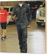 Dallas Mavericks V Houston Rockets- Wood Print