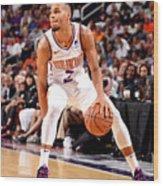 Dallas Mavericks V Phoenix Suns Wood Print