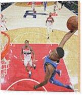 Dallas Mavericks V Washington Wizards Wood Print