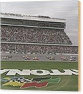 Daytona 500 Wood Print