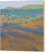 Dream Of West Dakota Wood Print