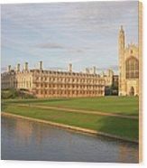 England, Cambridge, Cambridge Wood Print