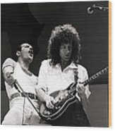 Entertainmentmusic. Live Aid Concert Wood Print