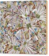 Floral Art Wood Print