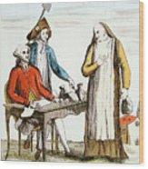 French Revolution 1789 Wood Print