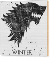 Game Of Thrones Wood Print