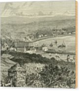 General View Of Douglas Wood Print