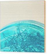 Glass Bowl, Close Up Wood Print