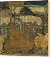 Goddess Of Chaste Love  Wood Print