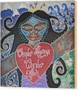 Goddess Of Wonder Wood Print