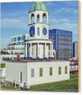 Halifax Town Clock 2017 Wood Print