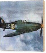 Hawker Hurricane, Wwii Wood Print