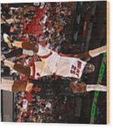 Houston Rockets V Miami Heat Wood Print