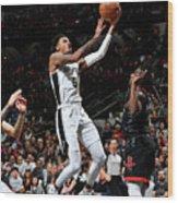 Houston Rockets V San Antonio Spurs Wood Print