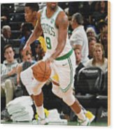 Indiana Pacers V Boston Celtics Wood Print