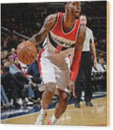Indiana Pacers V Washington Wizards Wood Print