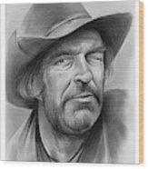 Jack Elam Wood Print