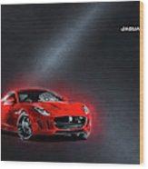 Jaguar F-type Wood Print
