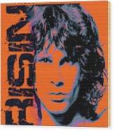 Jim Morrison, The Doors Wood Print