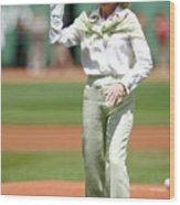 Kansas City Royals V Boston Red Sox 1 Wood Print