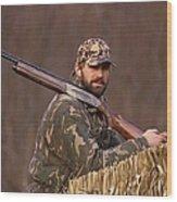 Kirk Gibson Goes Duck Hunting Wood Print