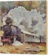Kylltal Railway  Wood Print