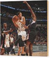 La Clippers V New Orleans Pelicans Wood Print