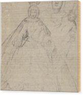 La Virgen Del Buen Suceso   Wood Print