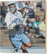 Lacrosse - Ncaa - Robert Morris Vs Wood Print