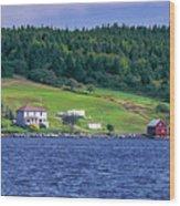 Lahave, Nova Scotia Wood Print