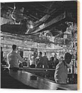 Latin Quarter Bar Wood Print