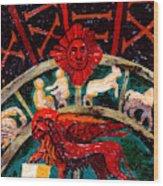 Lion Of St. Mark Wood Print