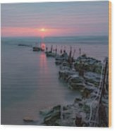 Longhoughton Beach - England Wood Print