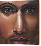 Lord Jesus Wood Print