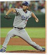 Los Angeles Dodgers V Arizona 1 Wood Print