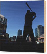 Los Angeles Dodgers V San Diego Padres Wood Print
