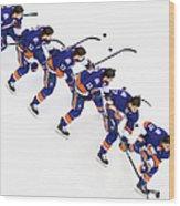 Los Angeles Kings V New York Islanders Wood Print
