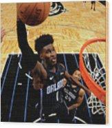 Los Angeles Lakers V Orlando Magic Wood Print