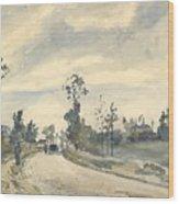 Louveciennes  Route De Saint   Germain  Wood Print