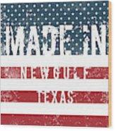 Made In Newgulf, Texas Wood Print