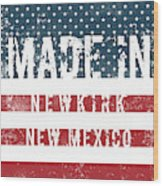 Made In Newkirk, New Mexico Wood Print