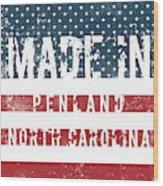 Made In Penland, North Carolina Wood Print