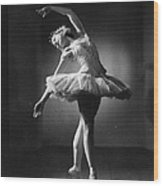 Margot Fonteyn Wood Print